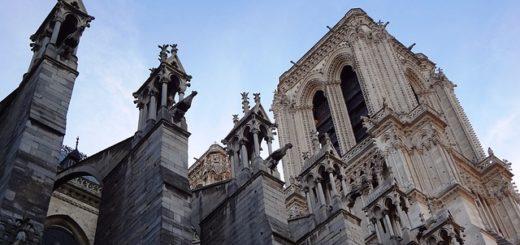 Visitando la Catedral de Notre Dame en París