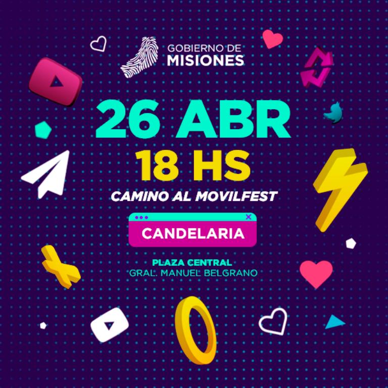 """""""Camino al Movilfest"""" se presenta en Candelaria para buscar nuevos talentos"""