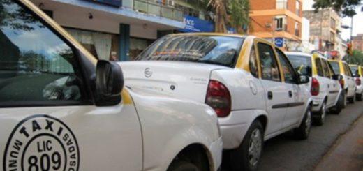 #30A: peones de Taxis de Posadas adhieren al paro pero dan libertad a quienes quieran prestar el servicio