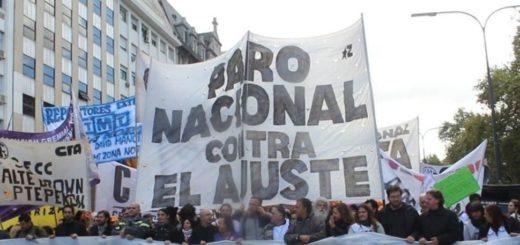 Gremios y sindicales marcharán esta tarde en Buenos Aires en defensa del trabajo y la producción