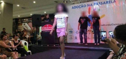 Polémica en Brasil por un desfile de niños huérfanos para adoptar