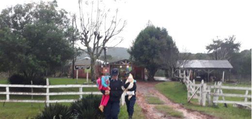 La Policía brindó un informe por el temporal y sus consecuencias en Misiones