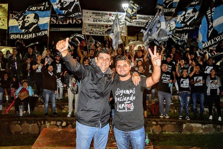 Jeremías Zarza lanzó su candidatura a concejal de Posadas por el sublema «Sigamos Haciendo Juntos»