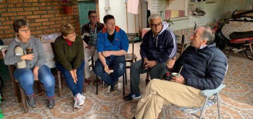 Schiavoni se reunió con vecinos de Puerto Rico, Capioví y Jardín América