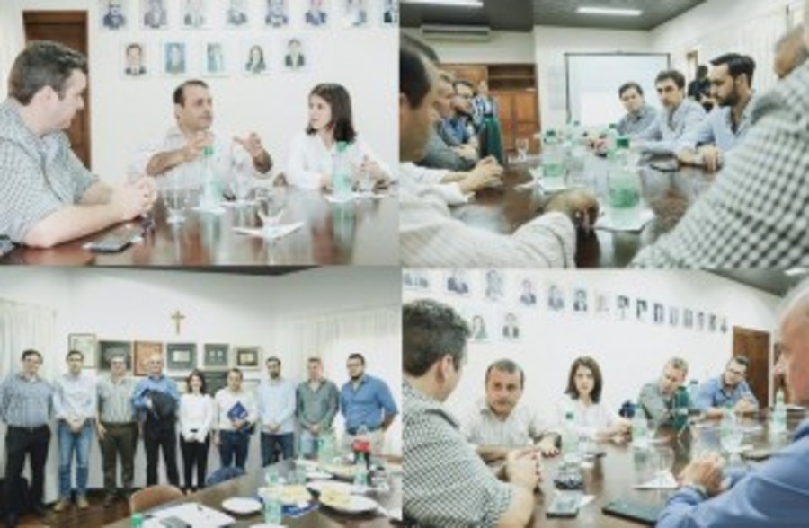 La CCIP le planteó propuestas para reactivar la economía al candidato a gobernador Herrera Ahuad
