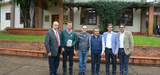 Herrera Ahuad visitó la ciudad de Alem
