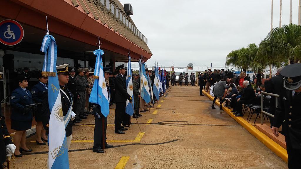 Con un emotivo acto, la Policía de Seguridad Aeroportuaria celebró sus 13 años