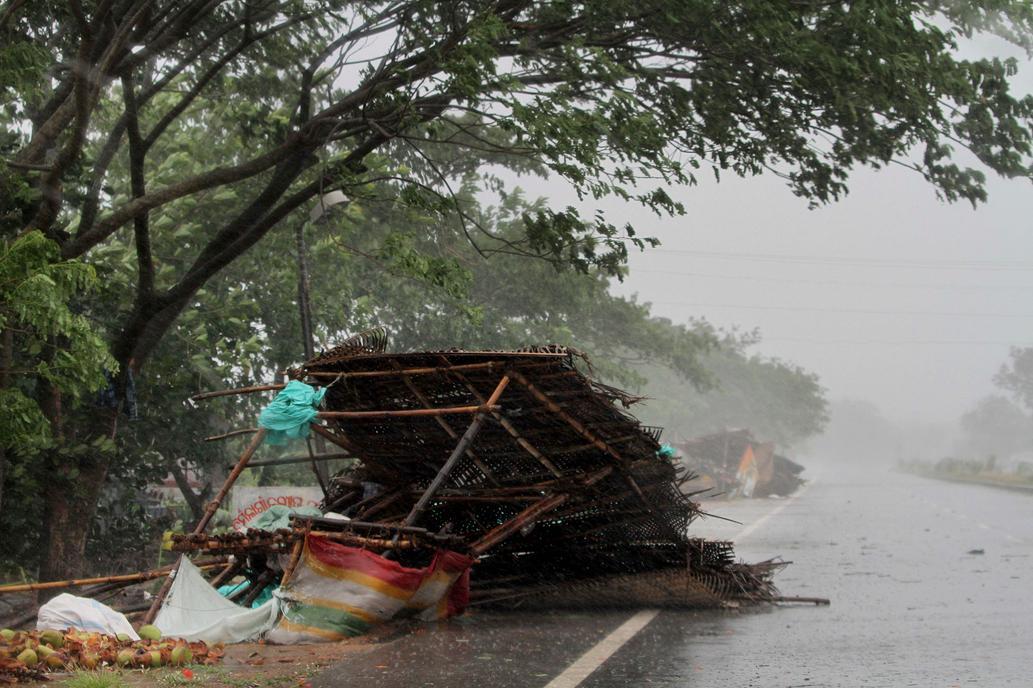 Ciclón Fani: el huracán más fuerte de India de los últimos 20 años ya dejó dos muertos