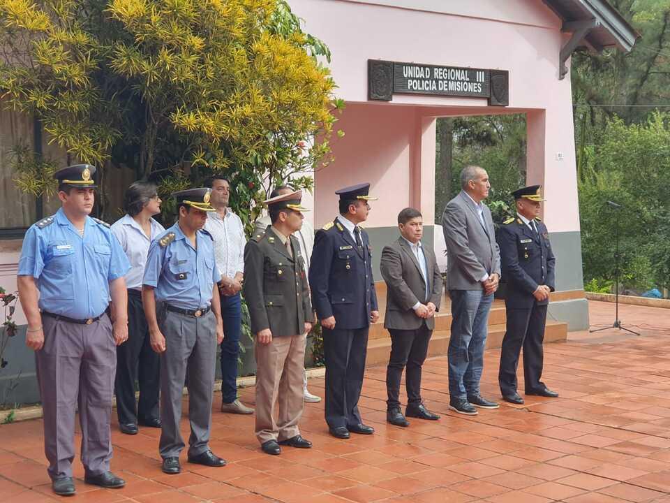 Eldorado: se realizó el acto por el 163º aniversario de la creación de la Policía de Misiones