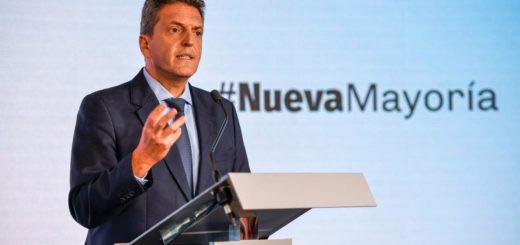 Massa discutirá en el congreso del Frente Renovador las políticas de alianzas de ese espacio