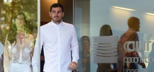 Con mucha emoción, Iker Casillas abandonó el hospital luego del infarto de miocardio