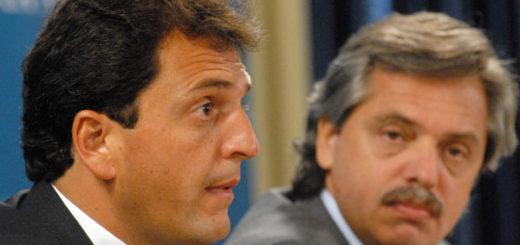 """Sergio Massa: """"Tengo respeto por Alberto, trabajó mucho alrededor de nuestro espacio y tenemos una mirada crítica"""""""