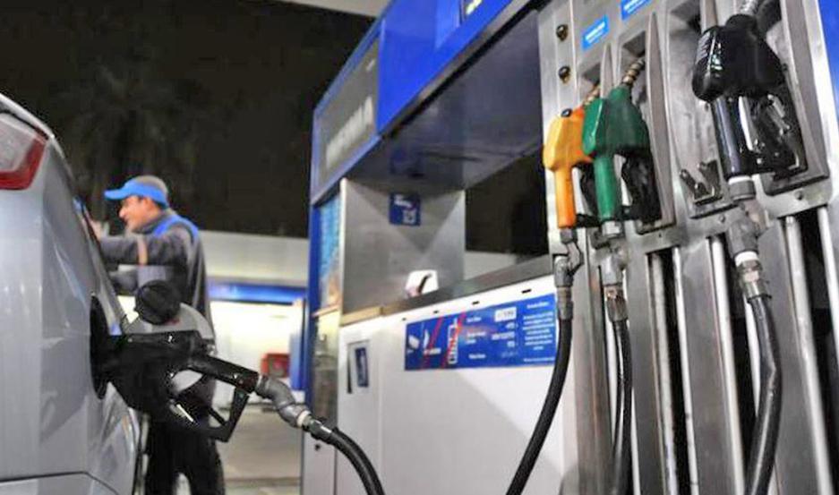 La nafta vuelve a aumentar este fin de semana