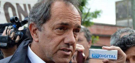 Scioli celebró el anuncio de Cristina y auguró una gran interna en la oposición para las PASO