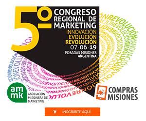 V Congreso Regional de Marketing en Posadas: Innovación, Revolución y Evolución...Conocé todos los detalles e inscribite aquí por Internet