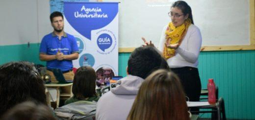 Agencia Universitaria de Posadas: más de mil estudiantes ya participaron de las charlas de orientación vocacional
