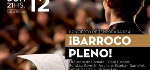 Barroco pleno: música en su máximo esplendor en el Parque delConocimiento