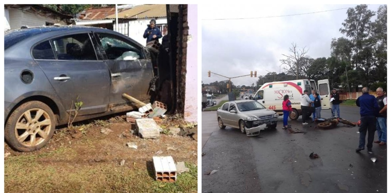 Penitenciarios y Policías detuvieron a un automovilista armado que intentó huir tras protagonizar un choque en Posadas