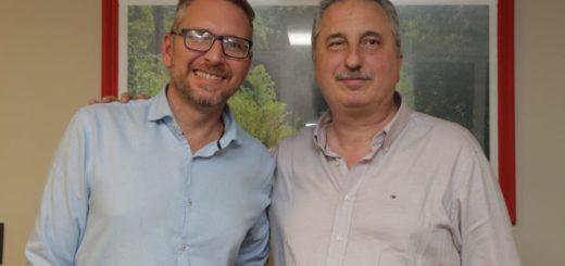"""Passalacqua se reunió con Juan Manuel Holz, candidato a intendente de Posadas por el sublema """"Ciudad Sana"""""""