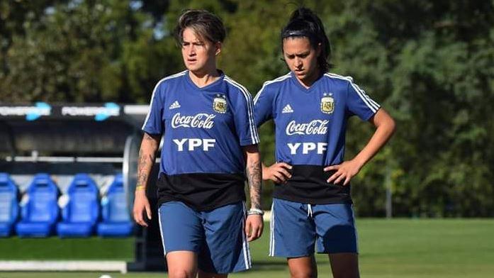 Fútbol femenino: las misioneras Yamila Rodríguez y Milagros Otazú se quedaron sin Mundial
