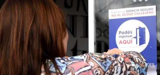 Ya son 500 los lugares que se sumaron al programa contra el acoso callejero