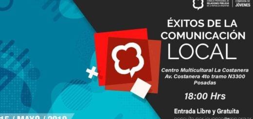 """Posadas: se realizará el evento """"Éxitos de la comunicación local"""" destinado a los jóvenes"""