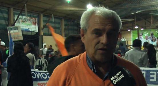 Miguel Onetto, candidato a intendente de Garupá, presentó en su espacio al ex Cambiemos Hugo Piriz en un festival