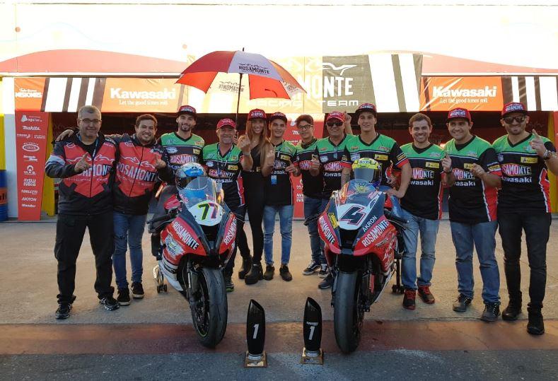 """Motociclismo: doblete en Buenos Aires para el """"Rosamonte Racing Team"""""""