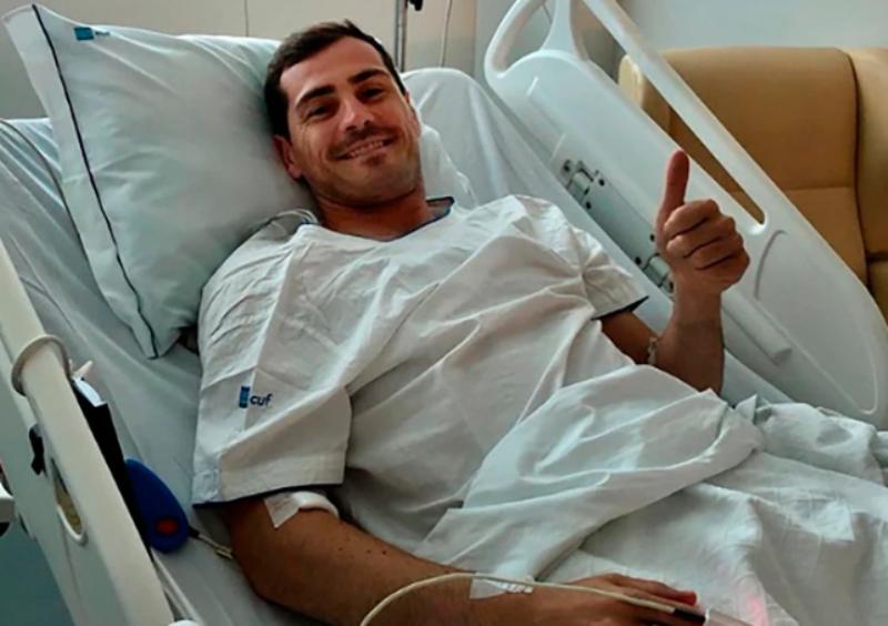 El primer mensaje de Iker Casillas tras sufrir un infarto durante un entrenamiento