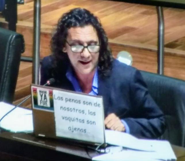 """La Legislatura misionera declaró su """"enérgico repudio"""" por la agresión que sufrió el diputado nacional Héctor Olivares"""
