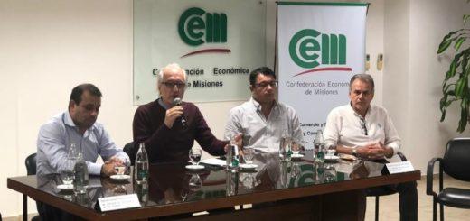 Entidades de la CEM recibieron a Herrera Ahuad