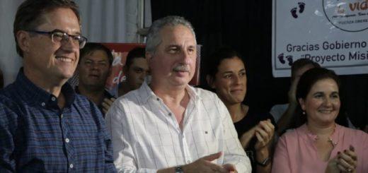 """Passalacqua acompañó en Oberá el lanzamiento de la candidatura a intendente de """"Tony"""" Lindstrom"""
