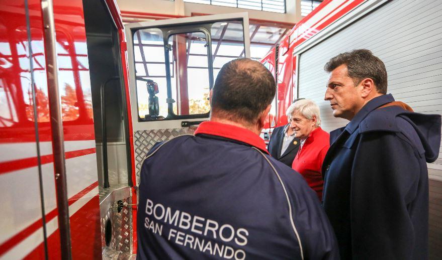 """Massa, en San Fernando: """"Hoy la mayoría de los argentinos quiere un nuevo Gobierno"""""""