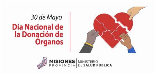 Desde Salud de la provincia trabajan campaña para incentivar donación de órganos y tejidos