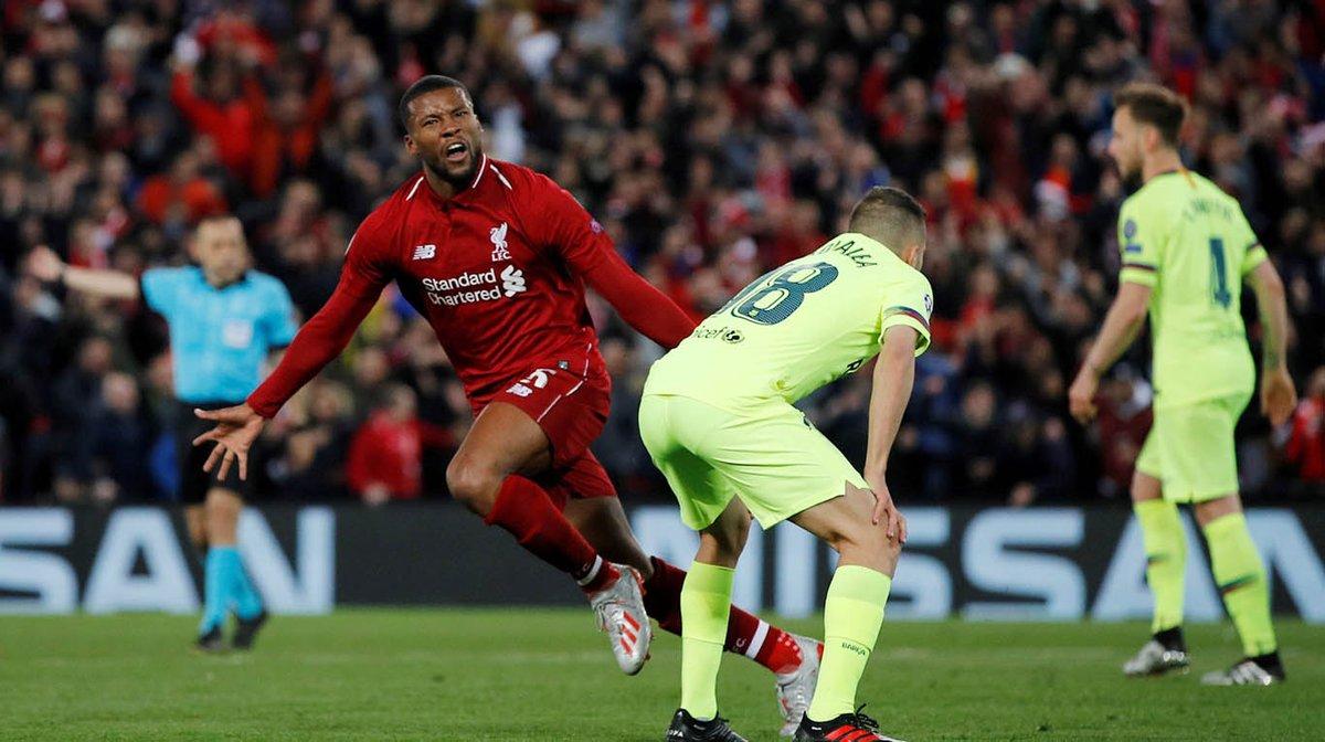 Champions League: con un Messi apagado, Liverpool goleó al Barcelona 4-0 y logró la hazaña en Anfield