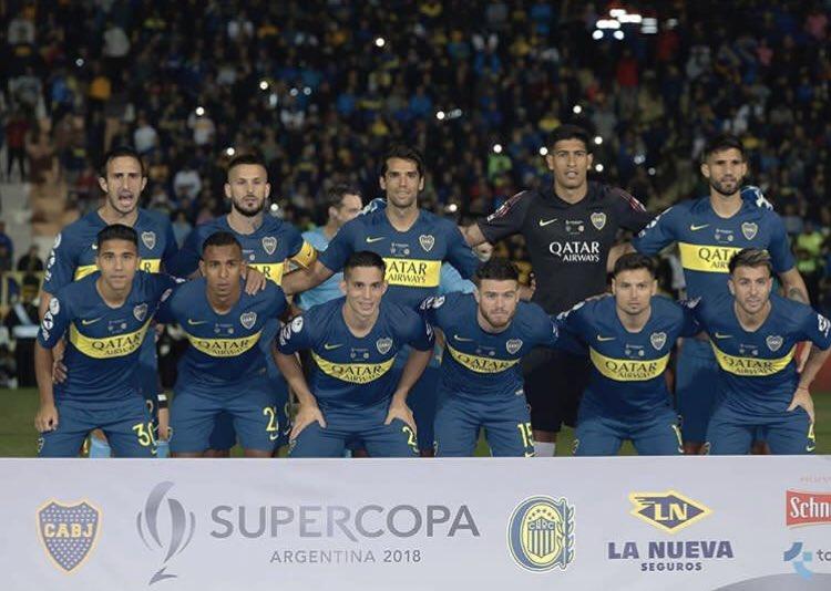 Boca venció a Rosario Central por penales y se coronó campeón de la Supercopa Argentina
