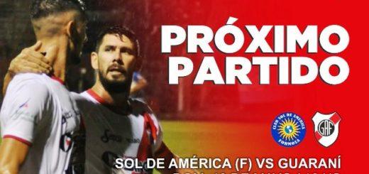 A cuatro partidos del ascenso, Guaraní enfrenta hoy a Sol de América en Formosa