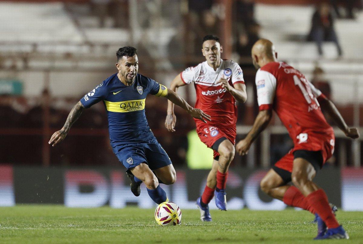 Copa de la Superliga: Argentinos y Boca empataron sin goles en La Paternal
