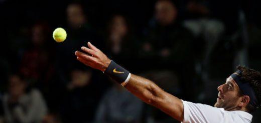 Juan Martín del Potro cayó ante Novak Djokovic y quedó eliminado del Masters 1000 de Roma
