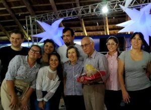 """Desde la comunidad de San Pedro homenajearon al médico Juan Román Lugo por haber sido un """"profesional pionero y comprometido en el servicio de salud"""""""