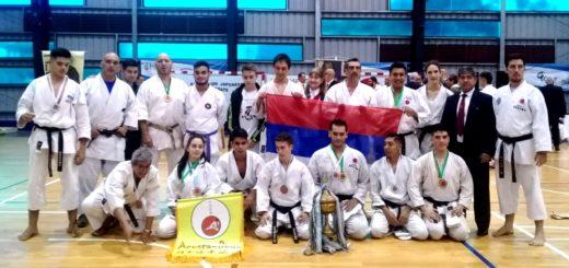 Karate: misioneros en el podio de la 46° Copa Itaya