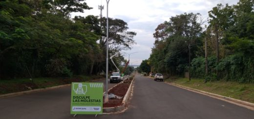 Posadas: Vialidad continúa instalando luminarias LED