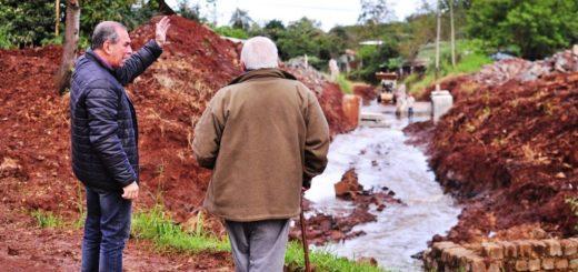 Vialidad ejecuta obras hidráulicas en Posadas