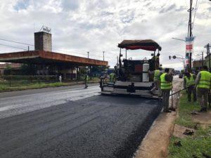 Numerosas tareas ejecutó Vialidad Provincial este domingo