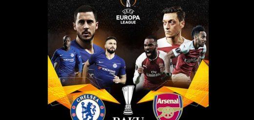 Arsenal y Chelsea protagonizarán la Final de la Europa League
