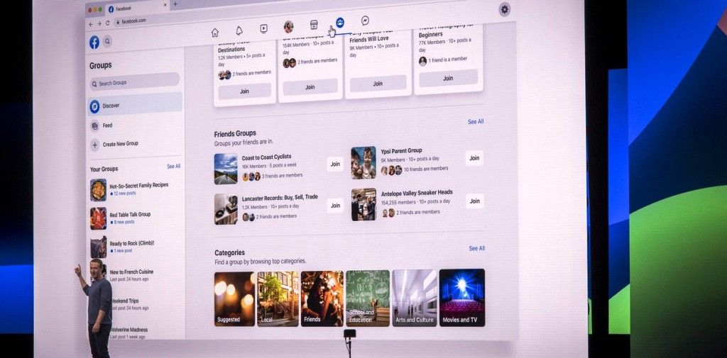 Facebook lanzó el rediseño de su app: así luce la red social en los dipositivos móviles