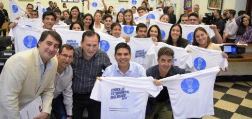 Con el sorteo de las instituciones, arrancó el Concejo Estudiantil inclusivo 2019 de Posadas