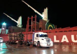 Entre Ríos: propietarios de transporte de carga de rollos de madera de pino para la exportación a China reclaman actualización de costos de tarifas del flete