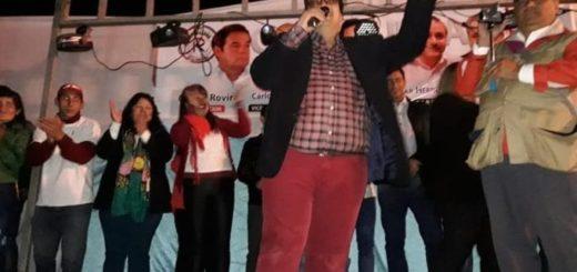 Garupá: multitudinario cierre de campaña del candidato a intendente Juan Pereyra