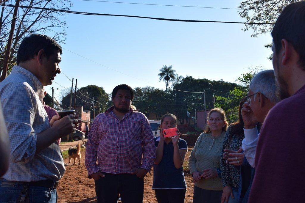 """Losada: """"Queremos la conexión de más viviendas a la red cloacal"""""""